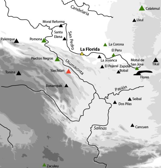 la florida neighbors map