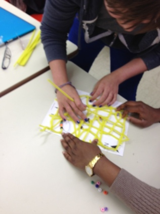 Pacific navigation and migration: students build Micronesian-style stick charts